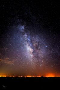 Milky Way as seen from Comanche County in Southwest Oklahoma.